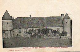 CPA - SAINT-AGNAN-sur-SARTHE (72) - Aspect Du Vieux Château Du Bois-Revert Au Début Du Siècle - Sable Sur Sarthe