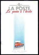 """"""" La Poste à L'école """" - Document émis Par Les Postes Belges - Table Des Matières En Scan 2. - Timbres"""