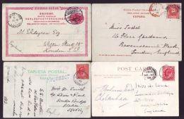 GB MARITIME SHIP LETTERS LONDON KING EDWARD 7TH - 1902-1951 (Kings)