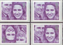 GB PHQ CARDS - PRINCESS ANNE WEDDING - 1952-.... (Elizabeth II)