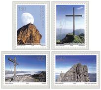 Liechtenstein 2009 Mountains Summit Crosses Alpine Association: 100 Years MNH **