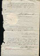 ORANGE FREE STATE SIGNATURE PRESIDENT BRAND 1871 - Old Paper