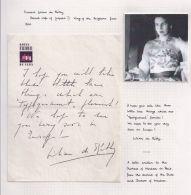 PRINCESS LILIAN DE RETHY OF BELGIUM LETTER TO DUCHESS OF WINDSOR CUBA - Unclassified