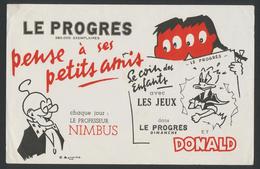 Buvard - JOURNAL - LE PROGRES - Blotters