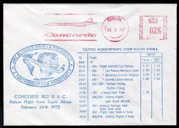 GREAT BRITAIN CONCORD SOUTH AFRICA FLIGHT 1973 - 1952-.... (Elizabeth II)
