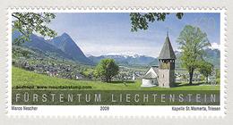 Liechtenstein 2009 Mountains St.-Mamertus Chapel In Triesen MNH **