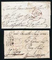 GB 1800 FREE FRANKS LONDON - 1840-1901 (Victoria)