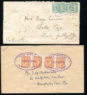 JAMAICA RAILWAY TPO TEMPORARY RUBBER DATESTAMPS NEW WORKS 1914/1956 - Jamaica (...-1961)