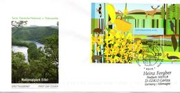 "BRD Schmuck-FDC  ""Blockausgabe: Nationalpark Eifel"", Mi. 2737 (Block 74) BONN 4.6.2009 - BRD"