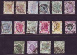 HONG KONG 1863-1936 USED SELECTION - Hong Kong (...-1997)