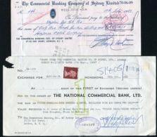 HONG KONG / GB/ AUSTRALIA CHEQUES 1968/9 - Unclassified