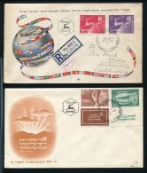 ISRAEL EARLY FDCs GREAT LOT 1949/53 UPU - Unclassified