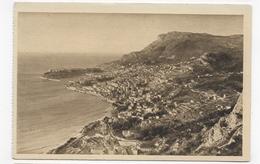 MONTE CARLO - N° 7/107 - PANORAMA - LA TETE DE CHIEN - FORMAT CPA NON VOYAGEE - Monte-Carlo