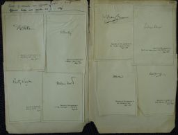 GREAT BRITAIN OFFICIAL MAIL BARBER SELWYN LLOYD WHITELAW 1958 - Autographs