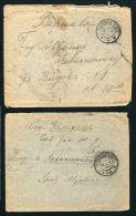 RUSSIA BESSARABIA TATARBUNAR 1916/1917 COVERS - Russia & USSR