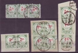NEW ZEALAND - 1899 POSTAGE DUES - GREAT LOT - New Zealand