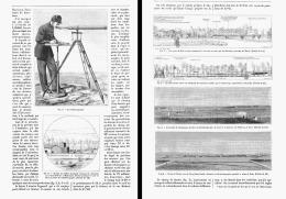 """LES RECONNAISSANCES à GRANDES DISTANCES """" LE TELEMETROGRAPHE """"   1885 - Non Classés"""