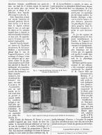 ECLAIRAGE ELECTRIQUE DE LABORATOIRE    1885 - Non Classés