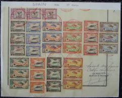 SPAIN AIR TRANS ATLANTIC MADRID MANILA SPECIMEN WATERLOW 1926 - Spain