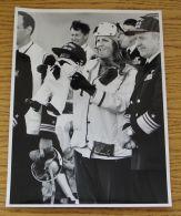 3 FINE ORIGINAL PRESS PHOTOS DUCHESS OF YORK MASCOT CALIFORNIA US NAVY 1988 - Unclassified