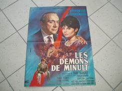 Affiche De Cinéma) Les Démons De Minuits : 1961 : Production : Gilbert Bowanowski : Charles Boyer, Pascale Petit - Posters
