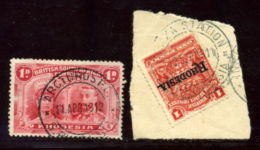 RHODESIA AMAZING POSTMARKS ARCTURUS GOLD MINE AND INSIZA STATION - Great Britain (former Colonies & Protectorates)