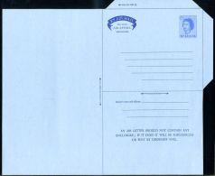 ST LUCIA 1965 AIRLETTER ESSAY QE2 6c - St.Lucia (...-1978)