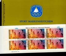 Sporthilfe Sonder- Markenheftchen 1980 Gymnastik 645 Gestempelt  Used (Sp 024) - Blocchi
