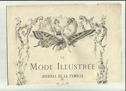 Journal De Famille-Mode-Illustrée(Table Des Matières)  35em Année Librairie FIRMIN -DIDOT & Cie A Paris Et  Mesnil -Eure - Haute Couture