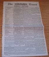 GB TIMES NEWSPAPER ARTICLE ON INTRO. OF IMPERIAL 1d POST CHRISTMAS DAY 1898 - Unclassified