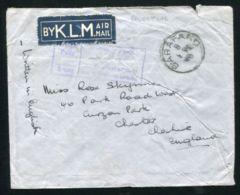 PALESTINE KLM AIRMAIL SARAFAND INSUFFICIENTLY PAID CACHET 1940 - Palestine