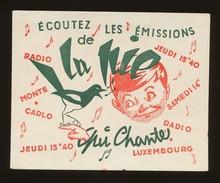 Buvard - LA PIE QUI CHANTE - Buvards, Protège-cahiers Illustrés