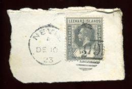 LEEWARD ISLANDS KG5 NEVIS 1923 - Leeward  Islands