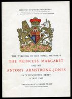 PRINCESS MARGARET WEDDING KING GEORGE'S JUBILEE TRUST - Other Collections