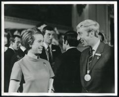 PRINCESS ANNE AT SPORTS RECEPTION 1969 - Other Collections