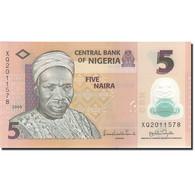 Nigéria, 5 Naira, 2005-2006, 2009, KM:32b, SPL - Nigeria
