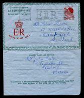 AUSTRALIA AIR LETTER ROYAL VISIT 1963 QUEEN ELIZABETH - Other Collections