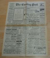 JERSEY WORLD WAR TWO NEWSPAPERS CLOCKS BIG BEN - Old Paper