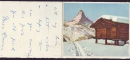 XMAS CARD INFANTA MARIA CRISTINA OF SPAIN  KING ALFONSO XIII BATTENBERG 1956 - Other Collections