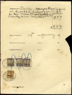 JAMAICA QV JUDICIAL COURT STAMPS ST CATHERINES - Jamaica (...-1961)