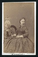 SIGNED CDV PHOTO PRINCESS LOUISE DUCHESS OF ARGYLL HILLS & SAUNDERS LORNE - Other Collections
