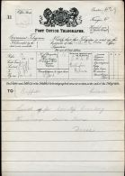 GB OHMS QUEEN VICTORIA TELEGRAM MASTER OF THE HORSE BUCKINGHAM PALACE 1899 - Other Collections