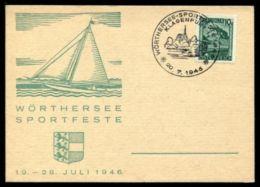 YACHTING AUSTRIA 1946 KLAGENFURT - Austria