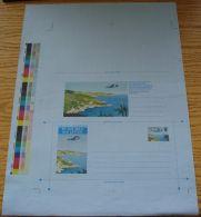 GB CHANNEL ISLANDS GUERNSEY 1980 AIRCRAFT PROOF - 1952-.... (Elizabeth II)