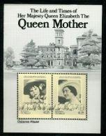 ROYALTY/ISLE OF WIGHT/TUVALU/QUEEN MOTHER PROOF - Gilbert & Ellice Islands (...-1979)