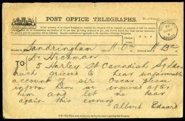 GB QUEEN VICTORIA ROYAL TELEGRAMS SIR OSCAR CLAYTON - 1840-1901 (Victoria)