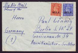 GB WW2 PRISONER OF WAR M.E.F. LIBYA KG6 - 1902-1951 (Kings)
