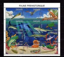 Gabon Prehistoric Fauna MNH - Francobolli