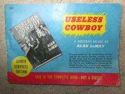 """Livre De Poche """"Armed Services Edition"""" US WW2 - 1939-45"""