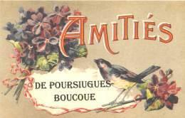 64 - PYRENEES ATLANTIQUES / Fantaisie Moderne - CPM - Format 9 X 14 Cm - POURSIUGUES BOUCOUE - Francia